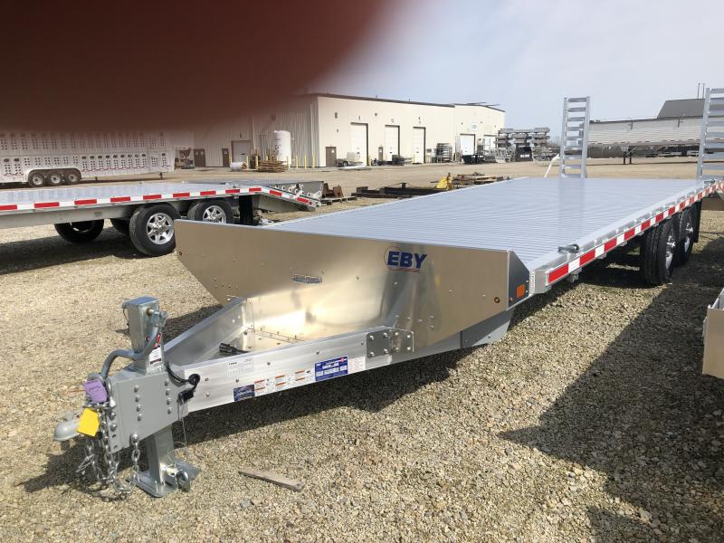 "2020 EBY 24'6"" x 102"" Equipment Bumper Hitch Trailer"