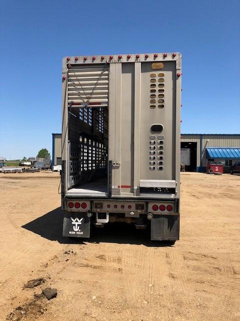 2011 Wilson 53' Quad Combo Livestock-Semi