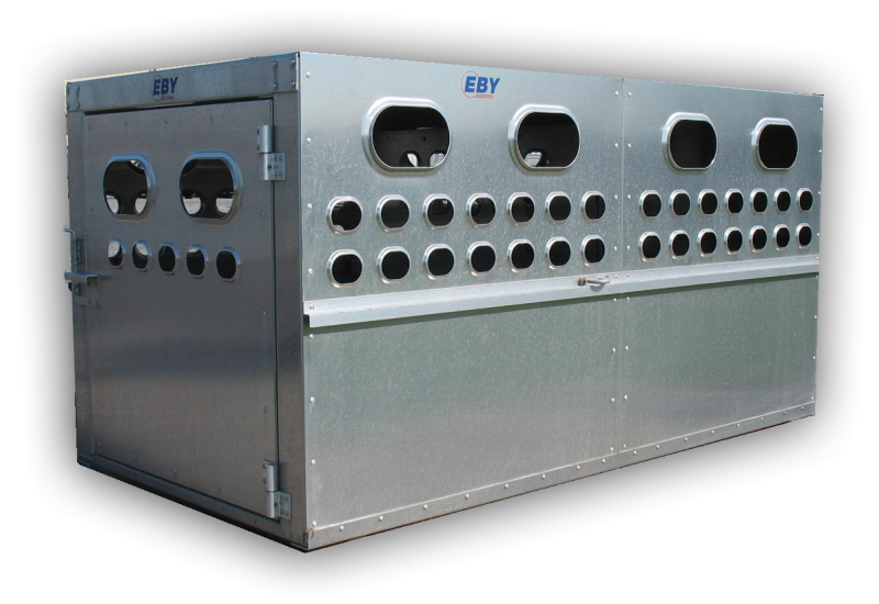 """EBY Livestock Box 8'L x 4'W x 46""""H  Box Livestock-Box"""