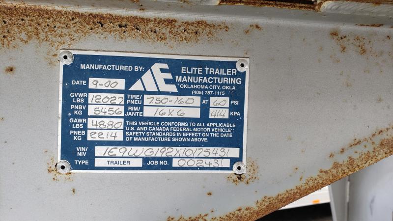 2001 Elite 19' GN 4 Horse Combo
