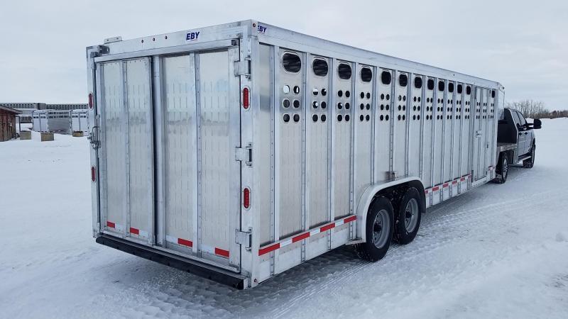 2020 EBY RUFF NECK PP Livestock Trailer