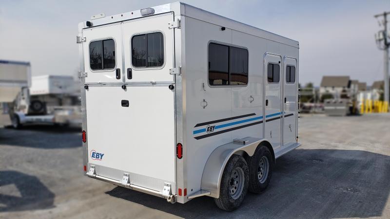 "2021 EBY VICTORY II 2 HORSE BUMPER PULL 14' x 6'8"" x 7'6"""