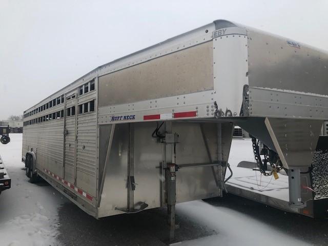 """2019 EBY RUFF NECK 30'x8'x6'6"""" Livestock Trailer"""