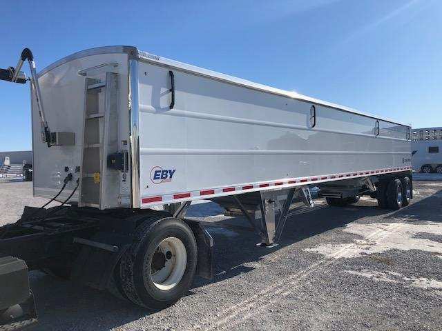 "2021 EBY Generation 42'x96""x66"" White Charter - Field Clearance  Semi Grain Trailer"