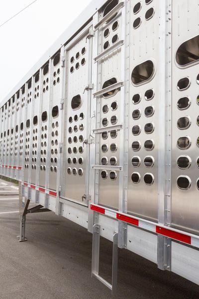 "2020 EBY 53' x 102"" x 6'8""  Groundload - PP D w/ Load Light (Texas) Livestock-Semi"