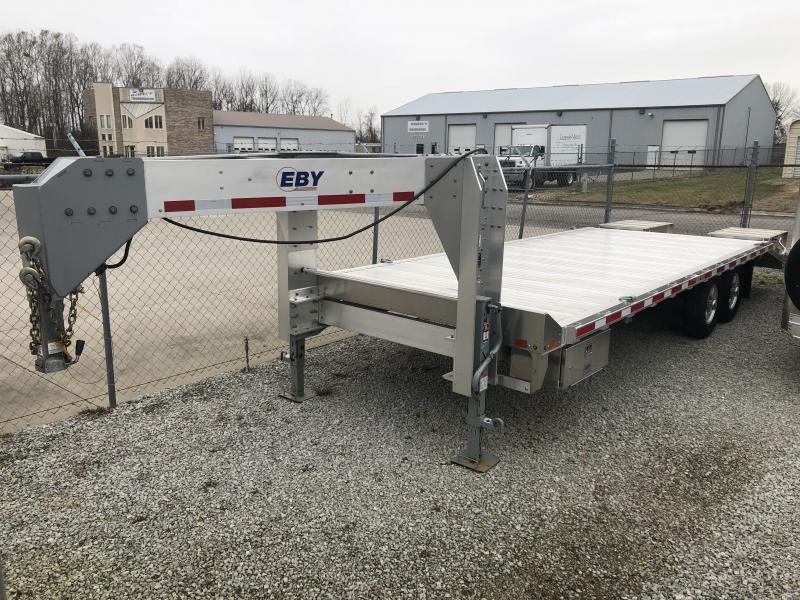 "2018 EBY 24'6"" x 102"" Deckover GN Equipment Trailer"