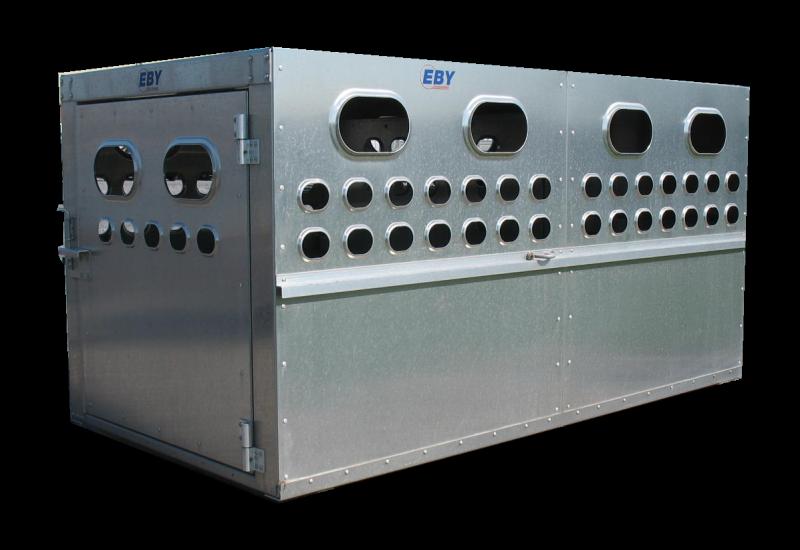 """EBY Livestock Box 6'L x 4'W x 46""""H - Bright Finish  Livestock-Box"""