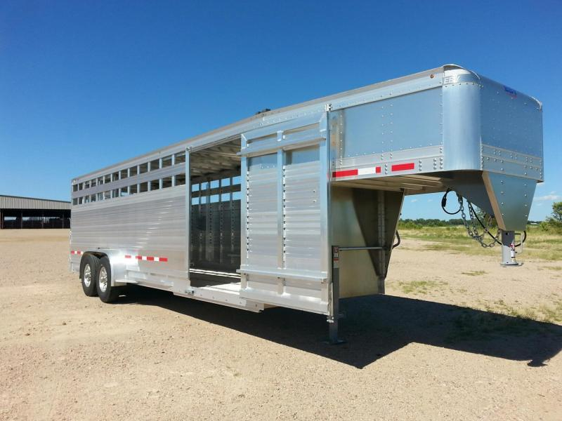 2020 EBY 24' Maverick Dakota Edition Livestock Trailer
