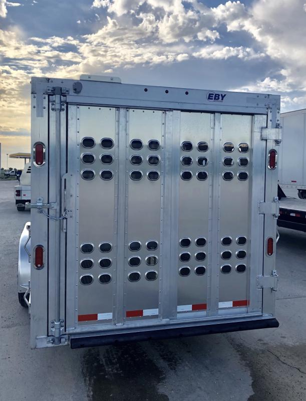 2020 EBY Maverick PP 7'x24' Livestock Trailer (Located in Texas)