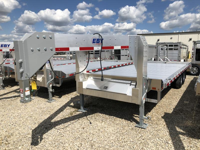 "2019 EBY 24'6"" x 102"" GN16K Equipment Trailer- Located in TX"