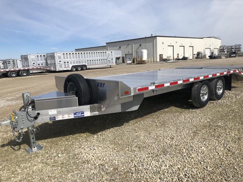 "2020 EBY 14K 20' x 102"" Equipment Bumper Hitch Trailer"