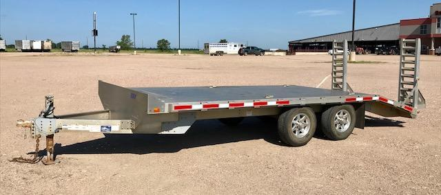 2015 EBY Deck Over Flatbed Trailer