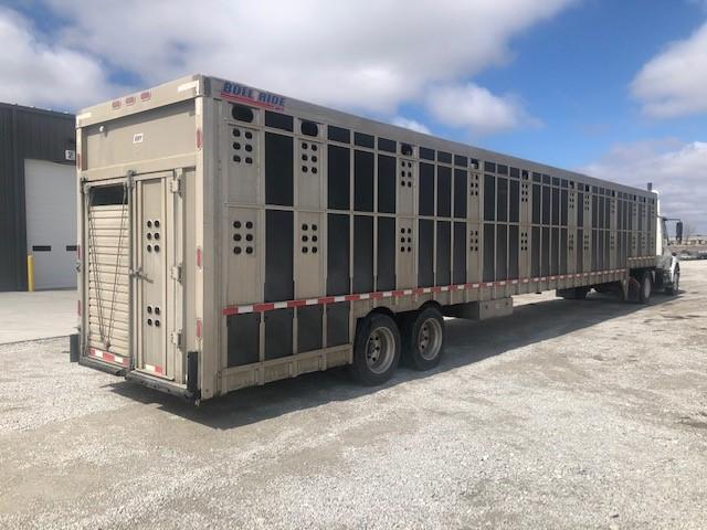 "2018 EBY 53'x102"" Ground Load Livestock"