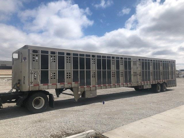 "2018 EBY 53'x102"" Ground Load Livestock"