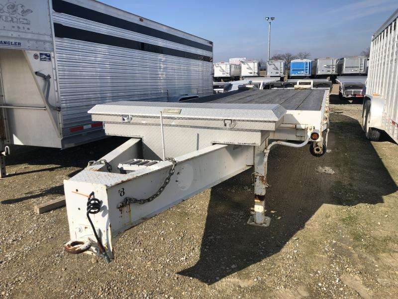 2005 May Used May 2005 20'+5' Equipment Bumper Hitch Trailer  BH Equipment
