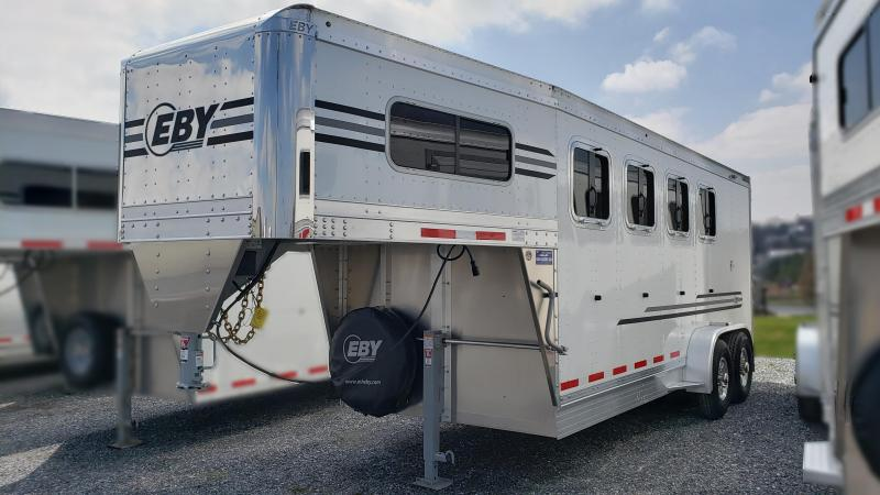 "2021 Eby 3/4 Pacesetter 18' x 6'11"" x 7'6"" GN Horse"