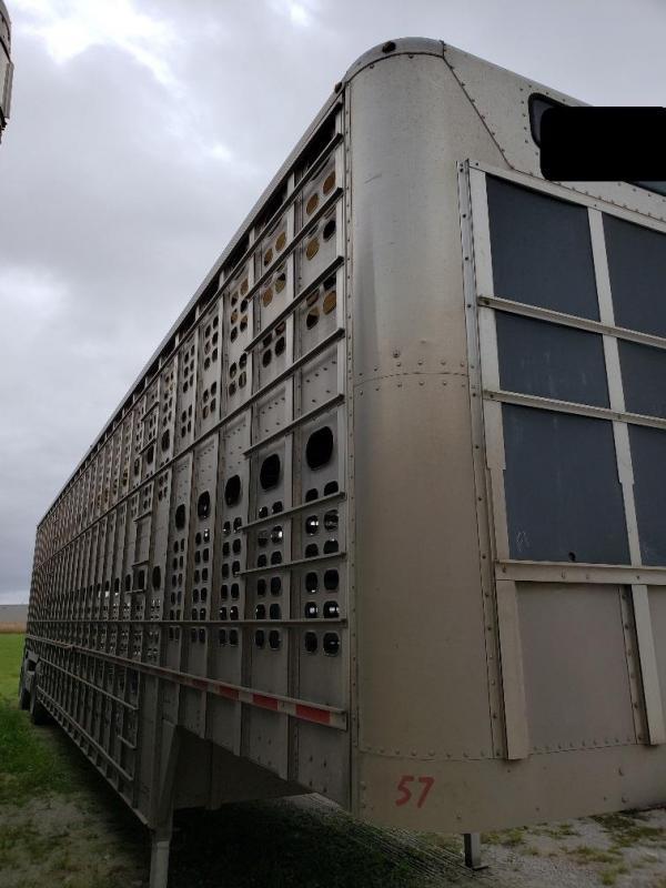 """2013 Wilson 53'x102""""x13'6"""" Spread Axle- Hog Friendly"""