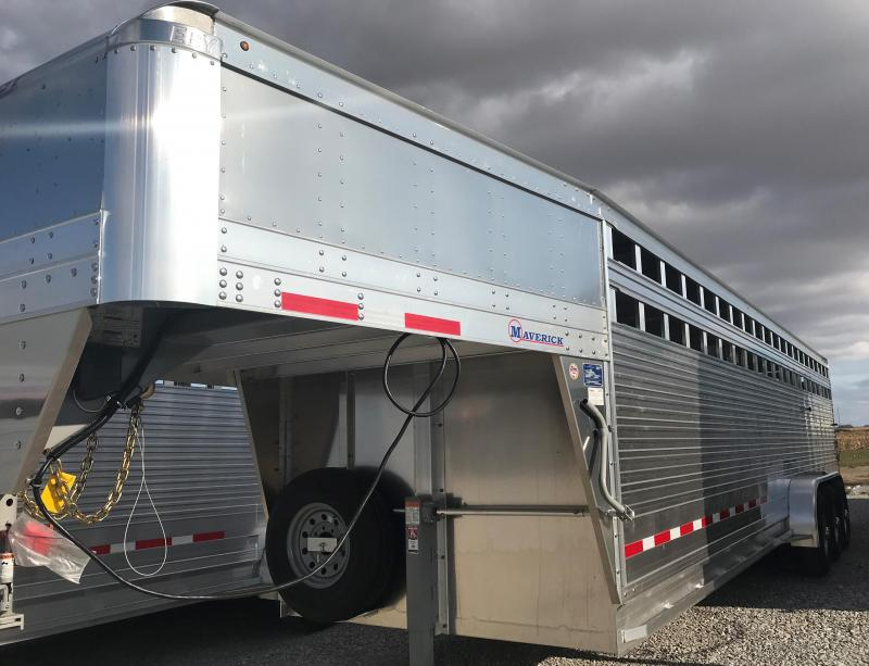 2020 Eby 30' x 6'6'' Mav Tri Slat B 52cs AL Wheels (Located in TX)