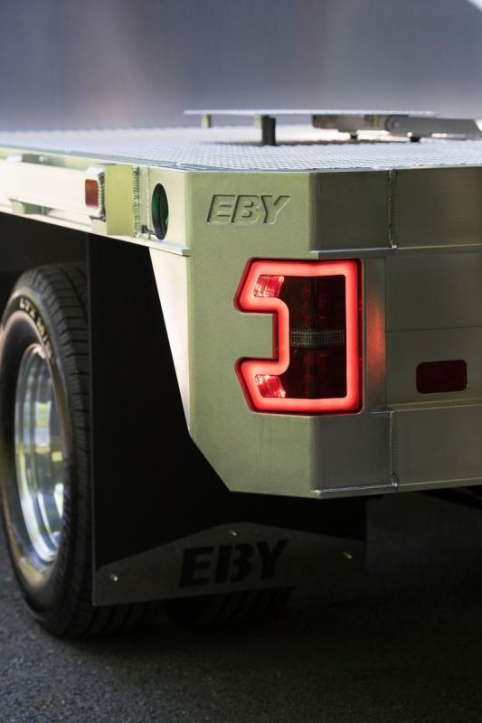 "EBY 8'6"" x 84-1/8"" Big Country Flatbed Body"