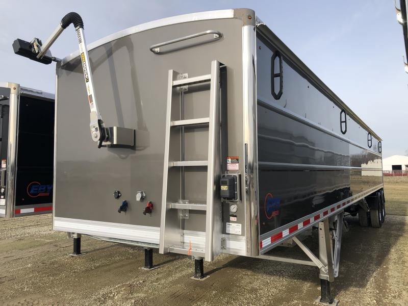 "2020 EBY Generation 40' x 96"" x 72"" Gun Metal Grain Trailer"