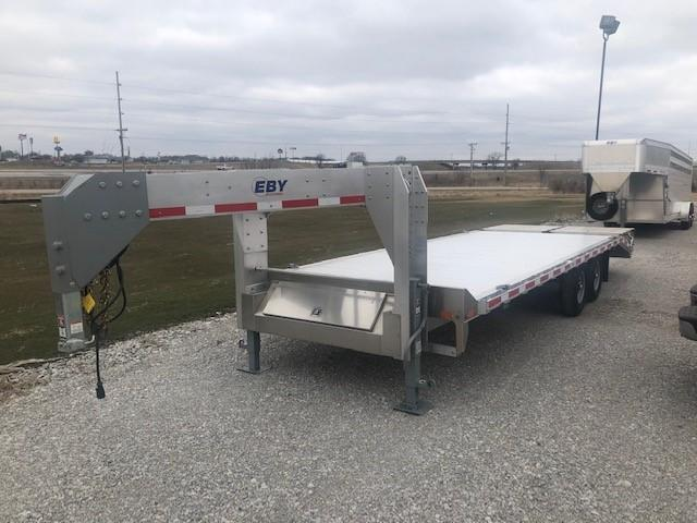2020 EBY Gooseneck Deck Over Equipment Trailer