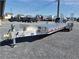 "2020 EBY 24'6""X82"" Low-Pro Equipment Bumper Hitch Trailer"