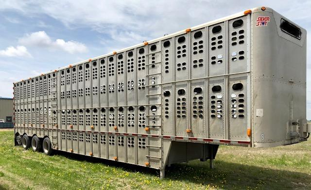 2011 Wilson 53' Quad Axle Cattle Pot