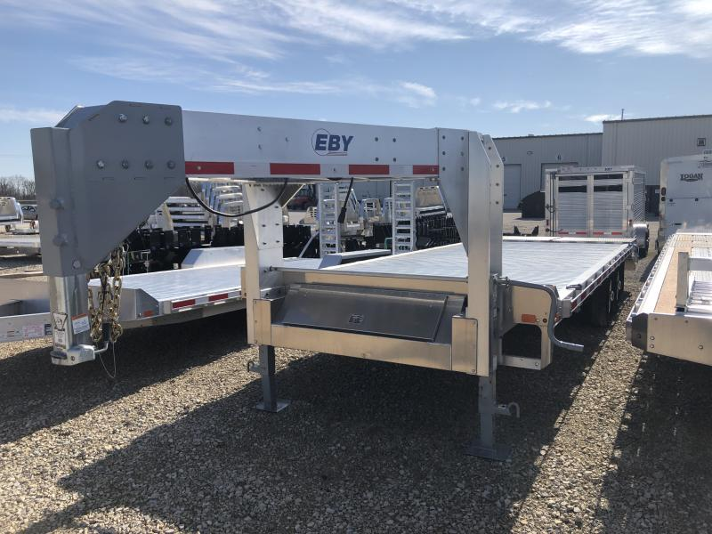 "2019 EBY 24'6"" x 102"" Flatbed Equipment Gooseneck Trailer"