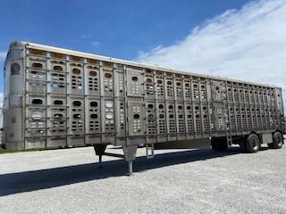 2006 Wilson Trailer Company Drop Floor Livestock