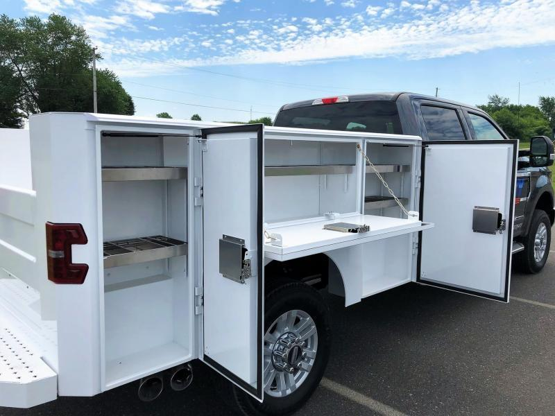 2019 EBY Service Body Truck Bed