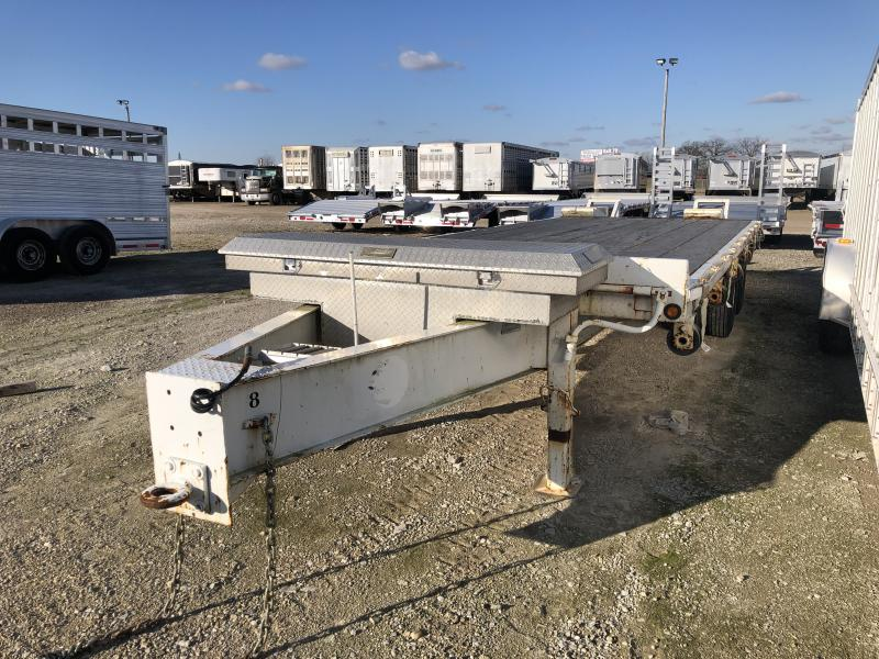 Used May 2005 20'+5' Equipment Bumper Hitch Trailer