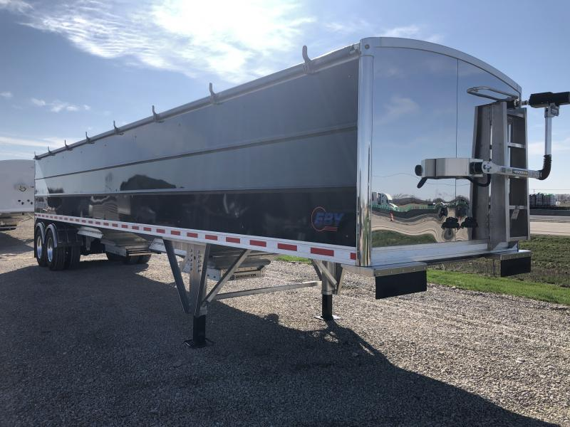 2021 EBY EBY Generation Grain Trailer 40x96x66 Field Clearance- Diagonal SS Panel  Semi Grain Trailer