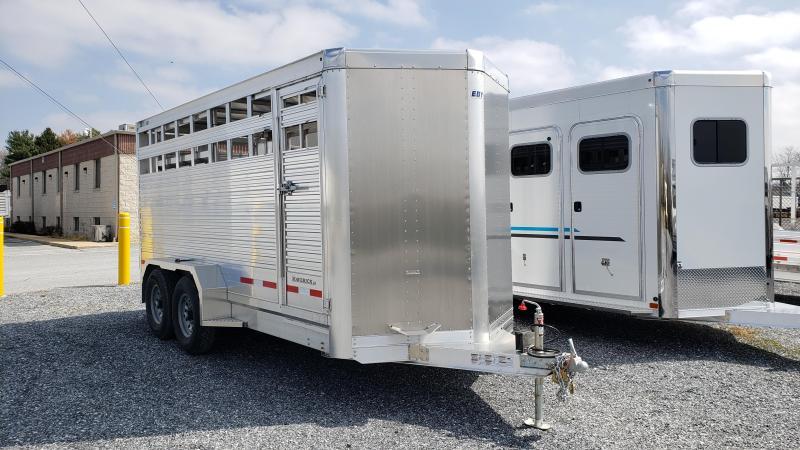 2020 EBY Maverick LS Livestock Trailer