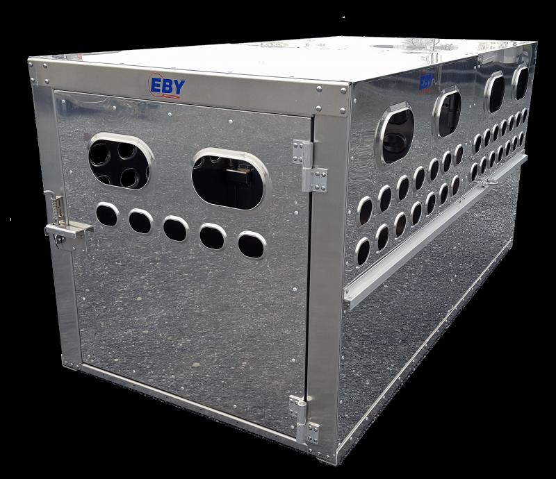 """EBY Livestock Box 8'L x 4'W x 46""""H - Bright Finish  Livestock-Box"""