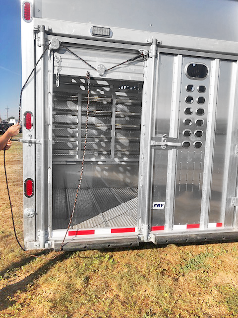 "2020 EBY 53' x 102"" x 6'8""  Groundload - PP D w/ Load Light (Texas)  Ground Load Livestock-Semi"