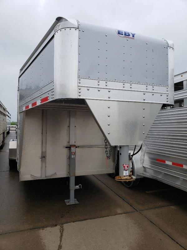 "2020 EBY Maverick LS 20' x 6'11"" x 6'6"" GN Livestock Trailer"