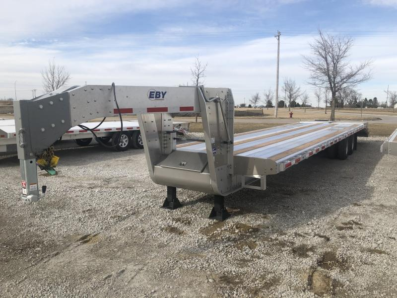 "2020 EBY GN25K 35' x 102"" GN Equipment Trailer- 12k Elec/Hyd Disc Brakes"