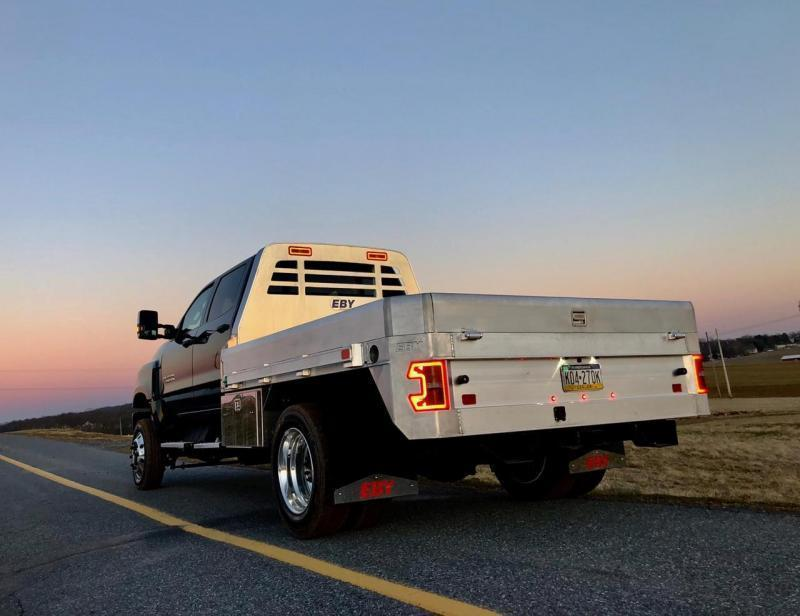 """2019 EBY 11' x 97-1/4"""" Big Country Flatbed Truck Body W/Taller BH for Chevy 4500-6500"""