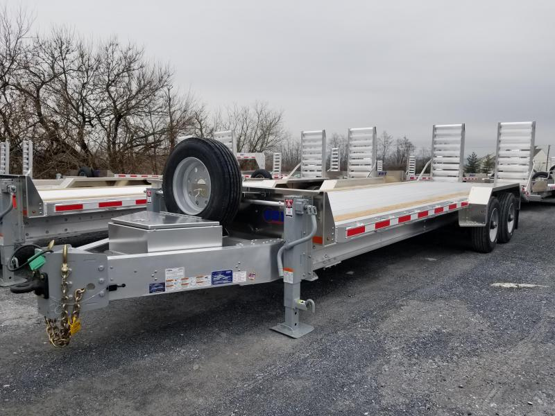 "2019 Eby 25'9x82"" Low-Pro Equipment Bumper Hitch Trailer"