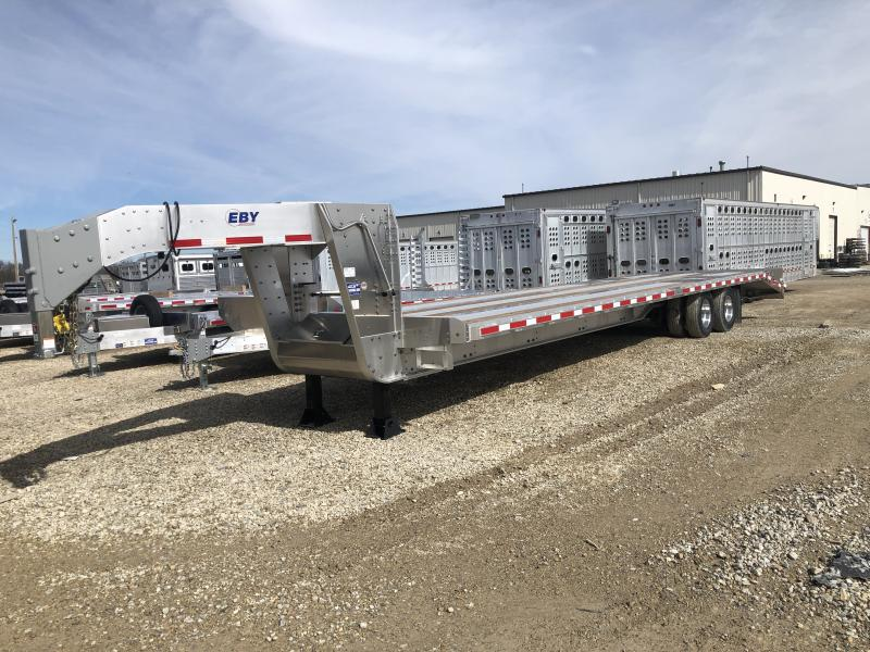 "2020 EBY 30'+5' x 102"" Flatbed Equipment Gooseneck Trailer"