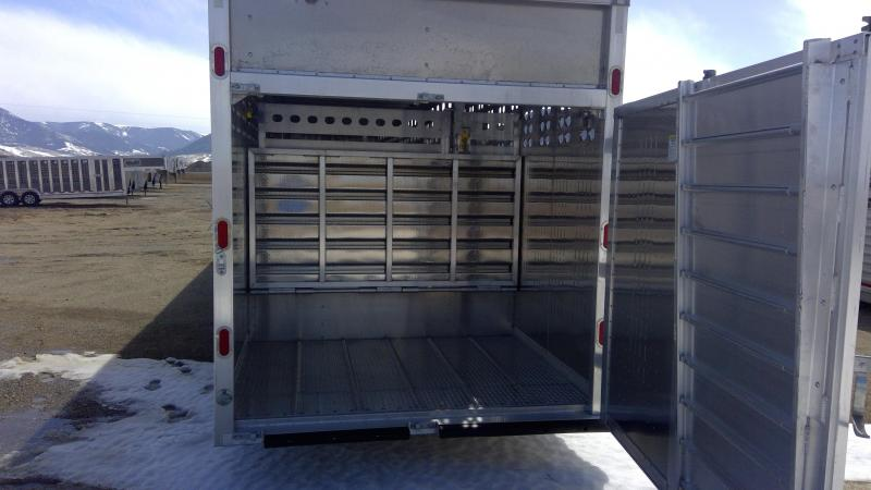 2021 EBY BULL RIDE GROUND LOAD Livestock Trailer
