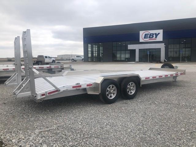 "2020 EBY 24'6"" Low Profile Bumper Hitch Equipment Trailer"