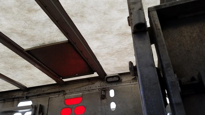 """2009 Barrett 53' x 102"""" x 14' Tall Tri-Axle 4-Deck Pot"""