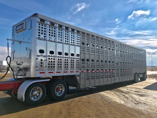 Used 2014 Eby 53' Bullride Hog Friendly Spread