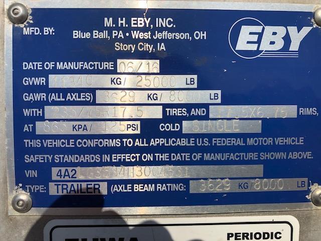 "2017 EBY Ruff Neck 35'x8'x7'6""- Double Deck"