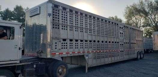 Eby 2013 51' Livestock-Semi