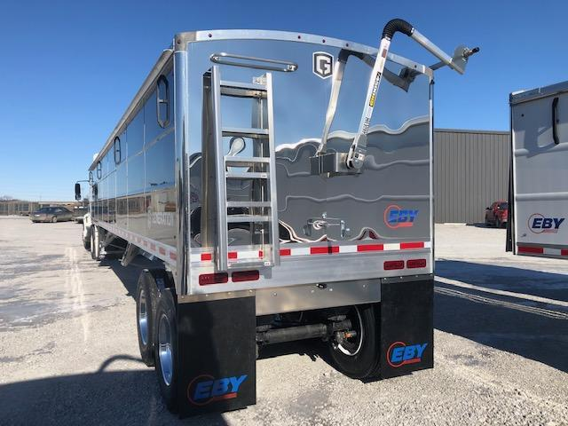 2021 EBY EBY Generation Grain Trailer 42x96x66 Pre Painted Black Charter Pkg - Field Clearance  Semi Grain Trailer
