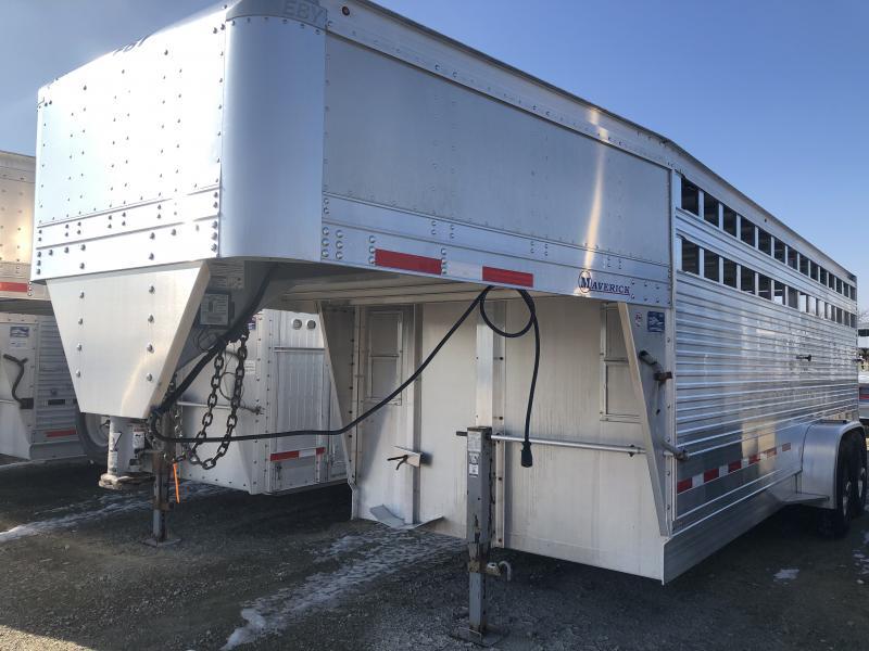 USED 2015 EBY MAVERICK 20X7X6.5  GN Livestock