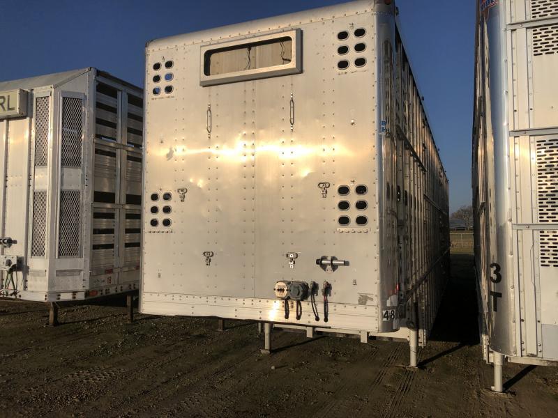 """2010 EBY 51' x 102"""" x 13'6"""" Bull Ride Semi Livestock Trailer"""