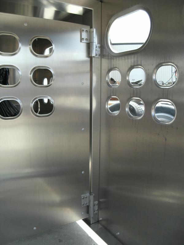 "EBY Livestock Box 8'L x 4'W x 46""H"